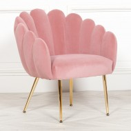 Deco Pink Dining / Bedroom Chair
