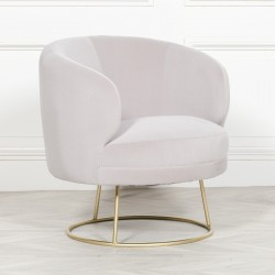Deco Grey Armchair