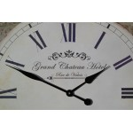 Large Grand Chateau Hotel 60cm Wall Clock