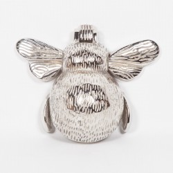 Chrome Bee Door Knocker