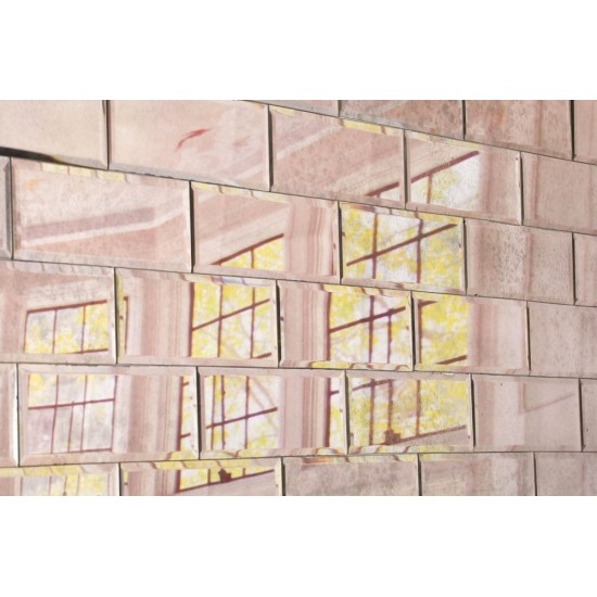 Antiqued Mirror Wall Tiles