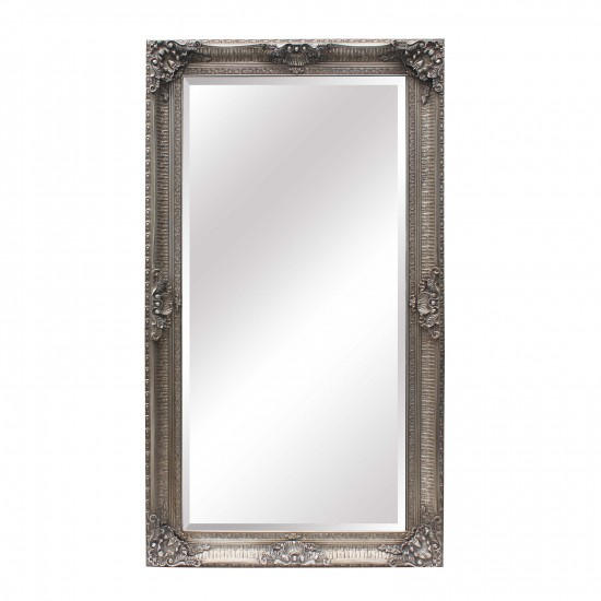 Extra Large Ornate Silver Mirror