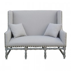 Fayet Large Linen 2 Seater Settee
