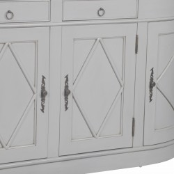 Classical Grey Sideboard