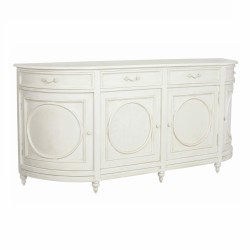 Aged Ivory Sideboard