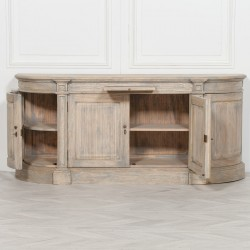 Rustic Wooden Large Buffet Sideboard