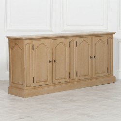 Distressed Painted 4 Door Sideboard
