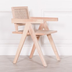 Wooden Caned Dining Chair