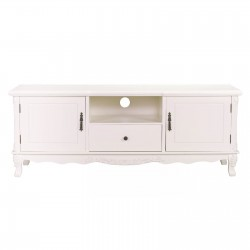 French Cream Large Cabinet TV Unit