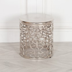 Aluminium Fretwork Side Table