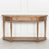 Rustic Wooden Console 151cm
